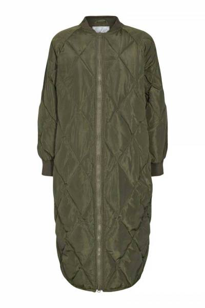 Amanda quilt coat army Co'Couture