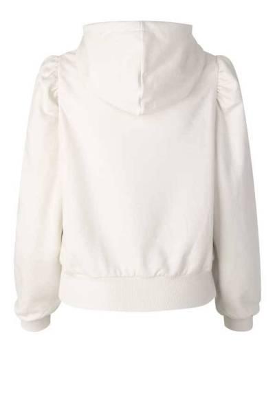 Carmella sweat hoodie whisper white Second Female