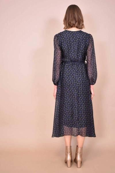 Cyriel robe noir La Fee Maraboutee