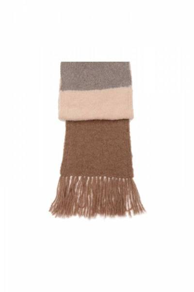 Tri-color camello mix INTI knitwear