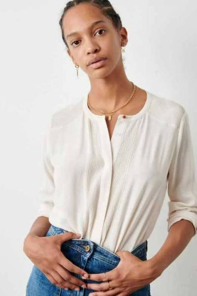Simi blouse fleur de sel Sessun
