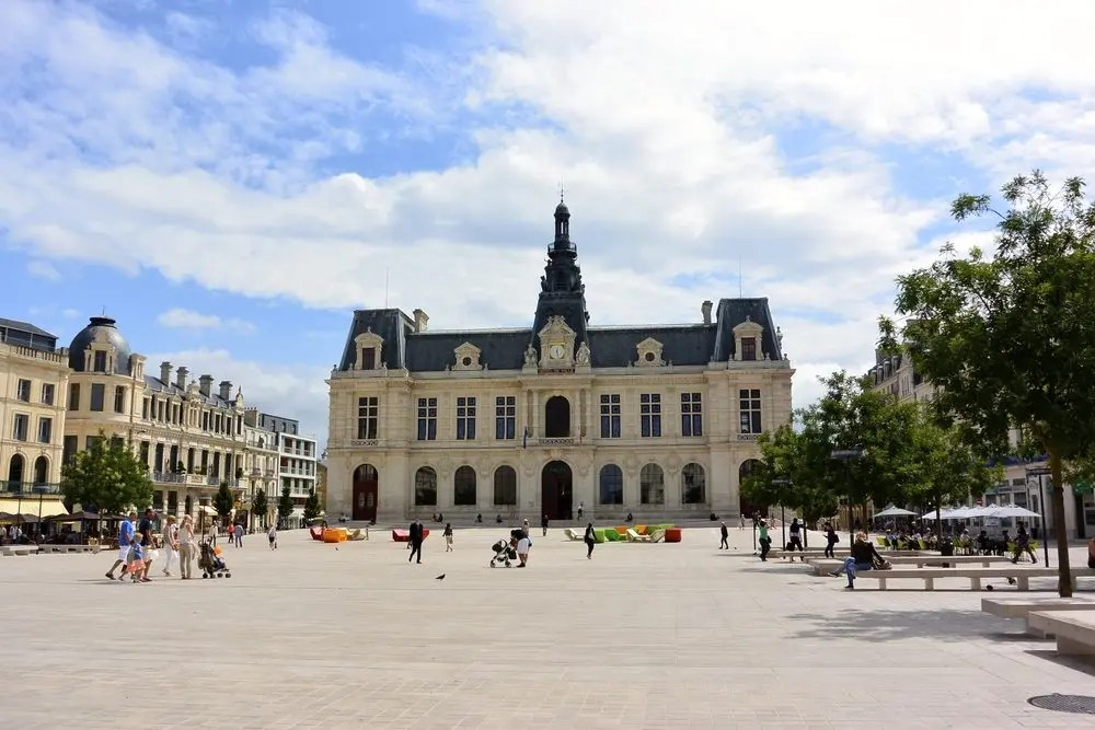 Town Square in Poitiers