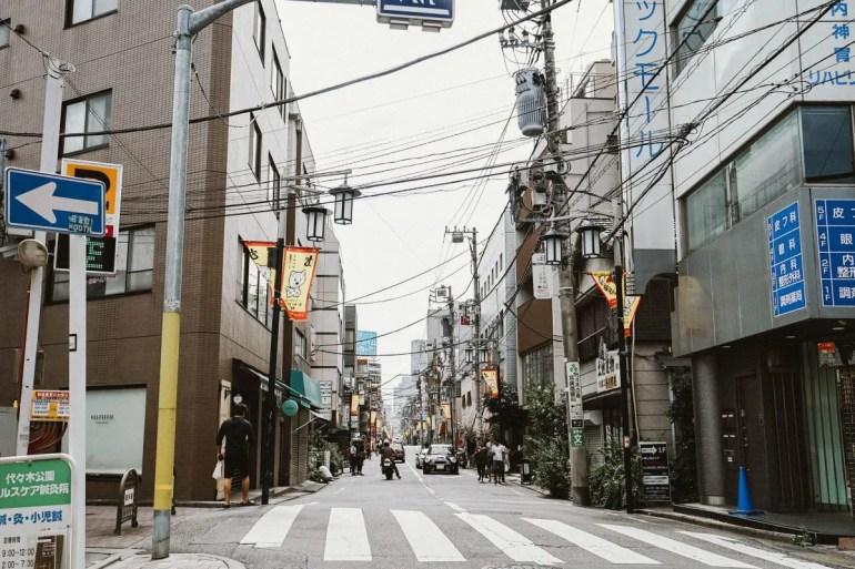 Tokyo scene
