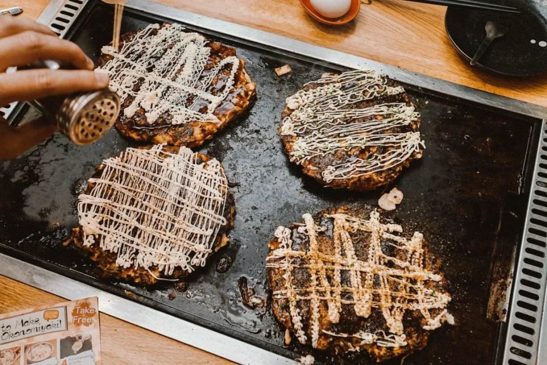 Okonomiyaki in Tokyo