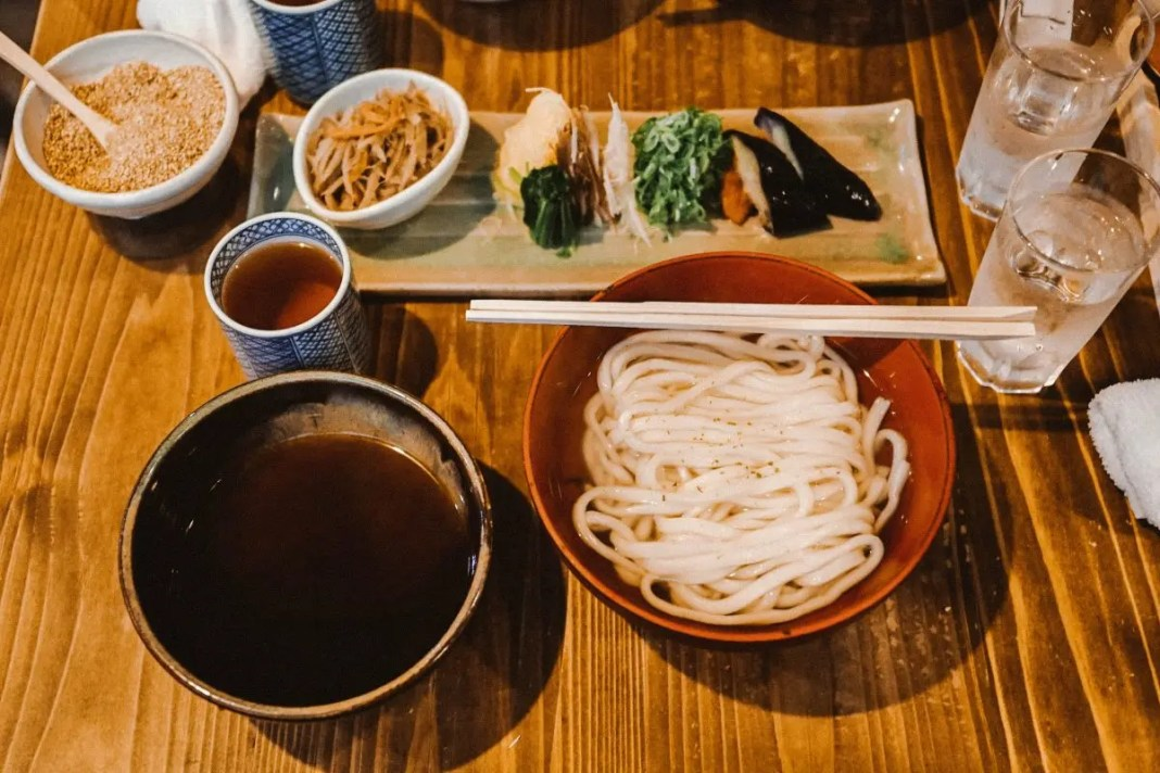Udon in Japan