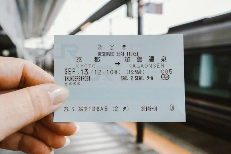 train ticket Japan