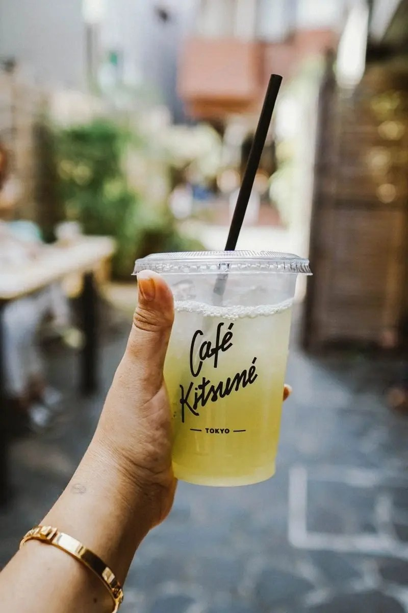 Cafe Kitsune in Tokyo