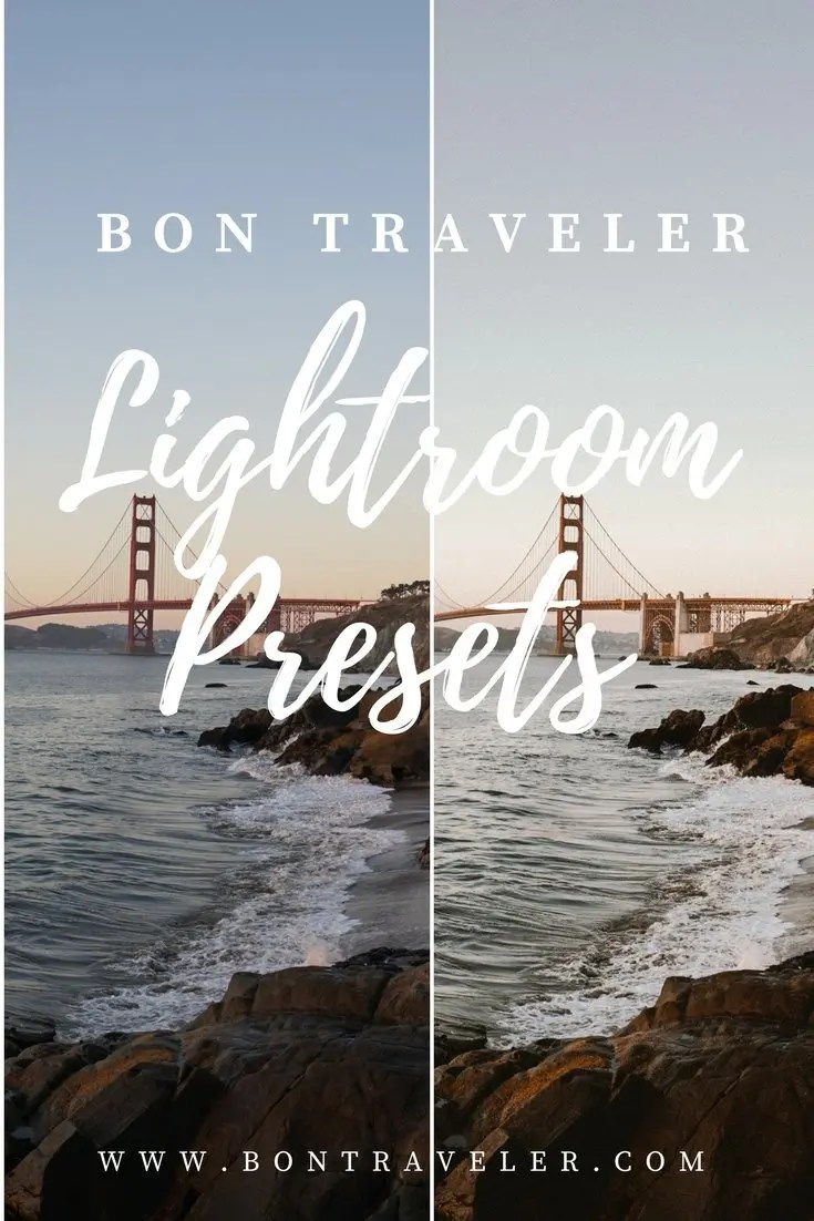 Bon Traveler Lightroom Presets Launch