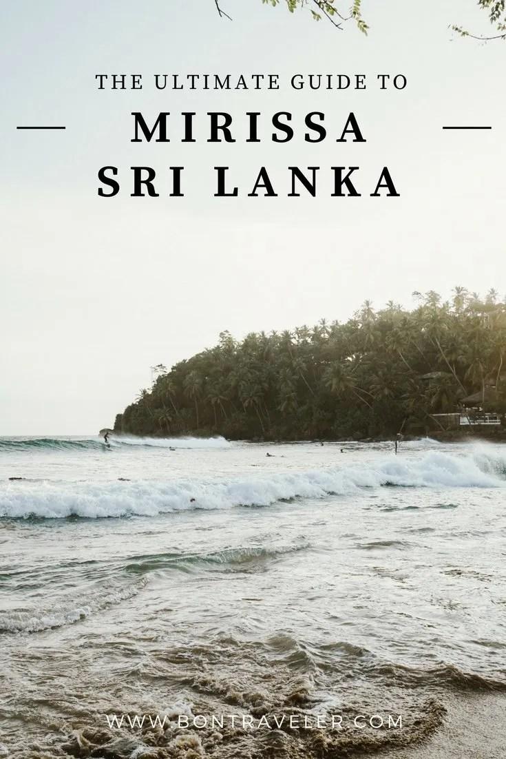 The Ultimate Guide to Mirissa, Sri Lanka