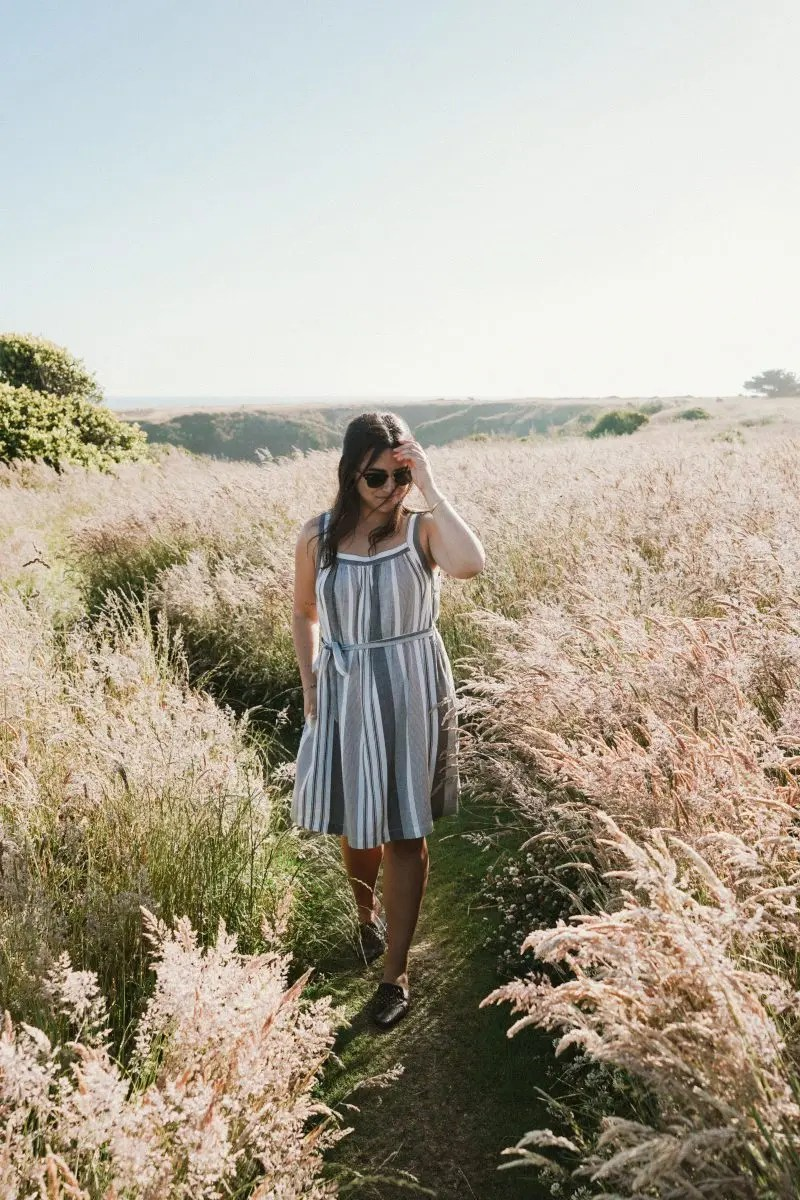 A Weekend in Mendocino Wearing Lou & Grey