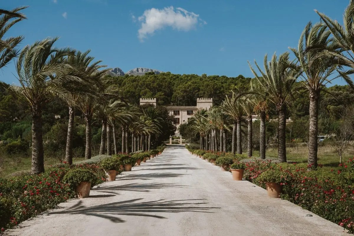Staying at Castell Son Claret in Mallorca with Kiwi Collection