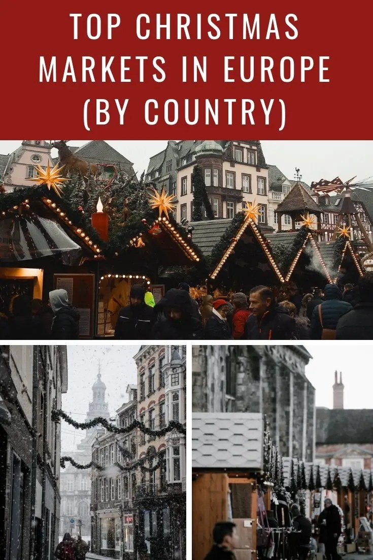 Top Christmas Markets in Europe (by Country)