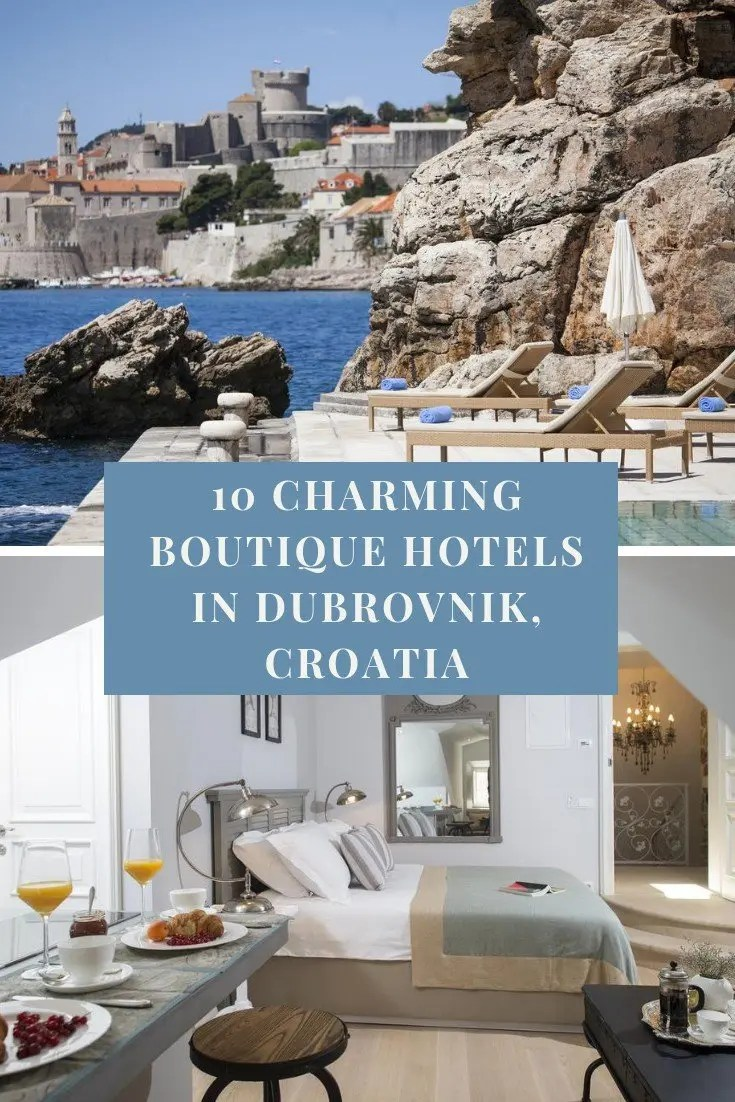 10 Charming Boutique Hotels in Dubrovnik, Croatia