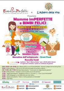 12-5-2018 Mamme imperfette e bimbi felici
