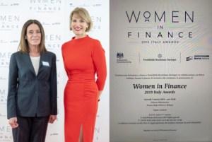 Riconoscimento - Women & Finance - 2019 ITALIY AWARDS - 7 marzo '19 -