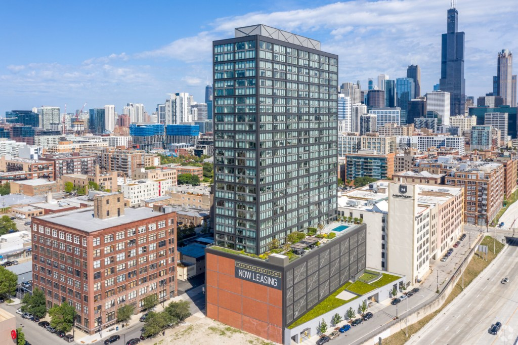 Landmark West Loop Rendering