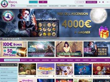 casino magicalspin avis vip code bonus gratuit