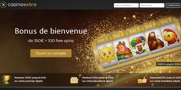 Casino Extra, Avis et Revue Complète. bonus de casino extra 100 tours gratuits