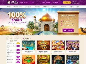 Casino Wild sultan avis, code bonus vip