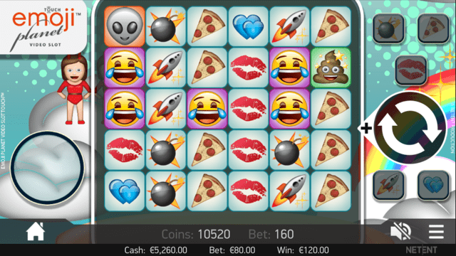 Emoji Planet de Netent dans les casinos de France-min