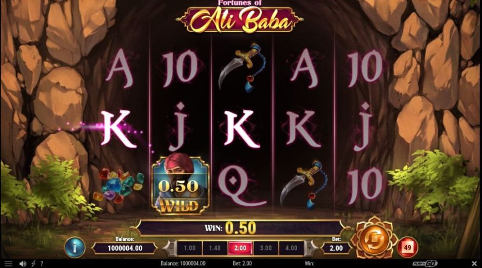 Fortunes of Ali Baba de PLAY'n GO dans les casinos de France