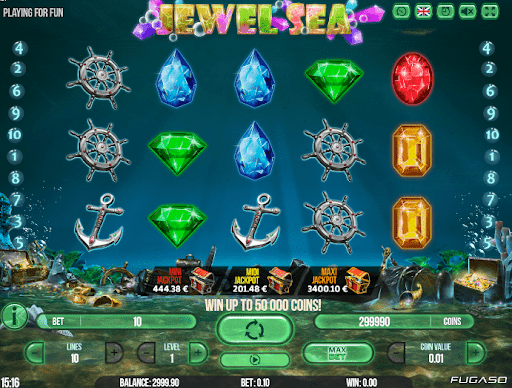 Jewel Sea de Fugaso dans les casinos en ligne de France-min