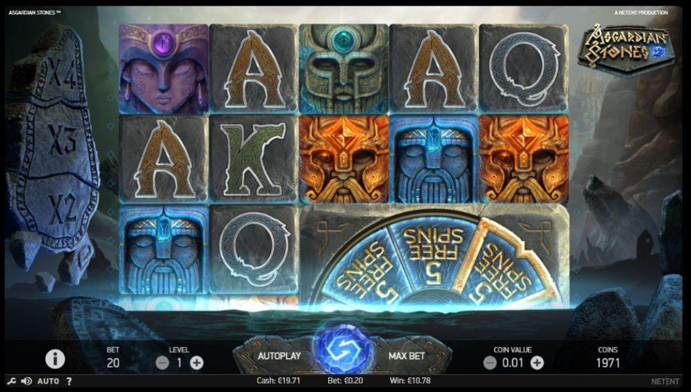 La machine a sous Asgardian Stones de Netent-min