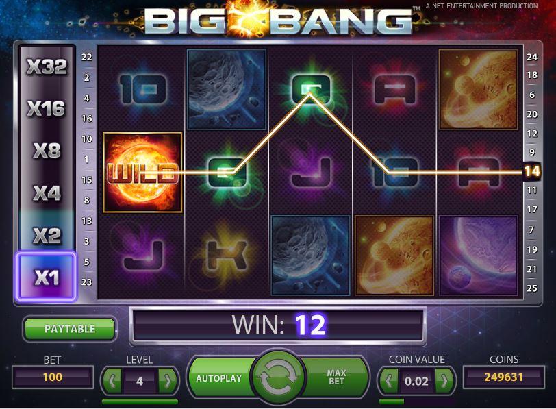 La machine a sous Big Bang de Netenet-min