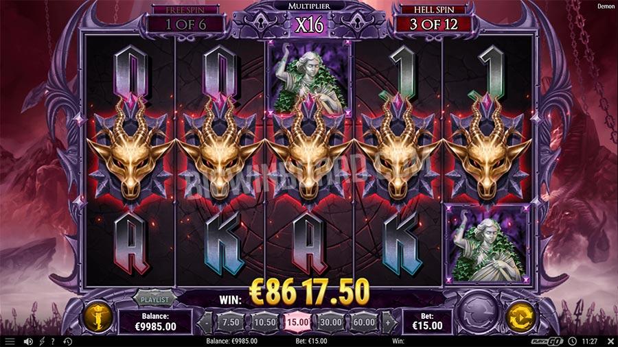La machine a sous Demon de Play 'N Go