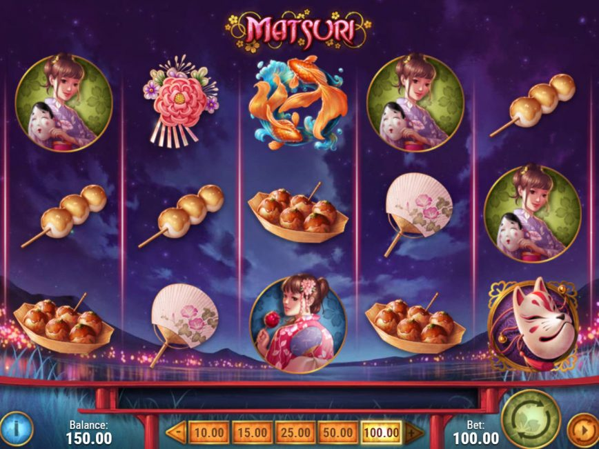 La machine a sous Matsuri de Play N Go-min