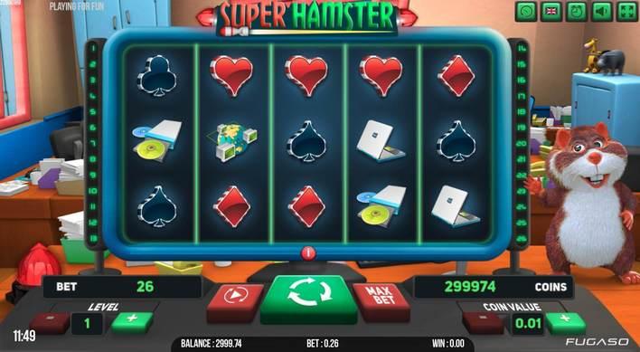 La machine a sous Super Hamster