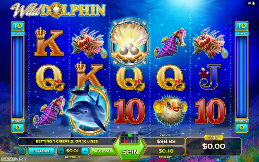 Wild Dolphins de Oryx Gaming dans les casinos de France-min
