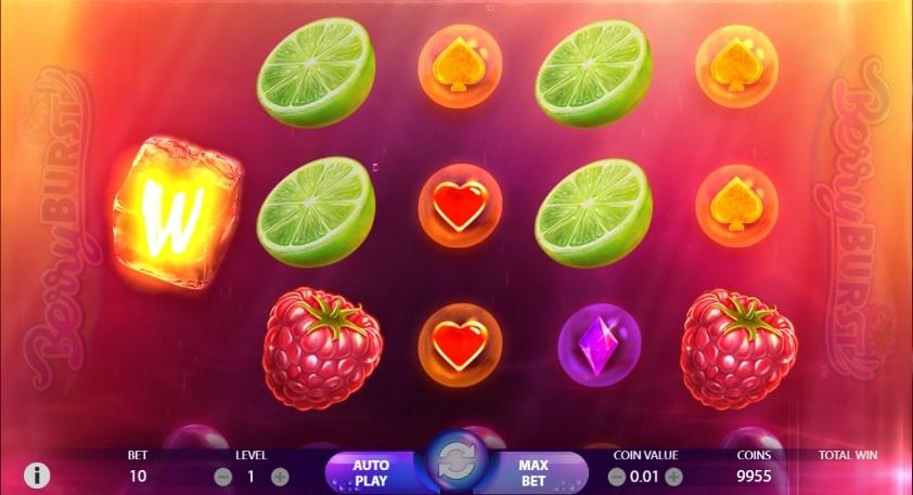 berry burst machine a sous de netent bonus et tours gratuit