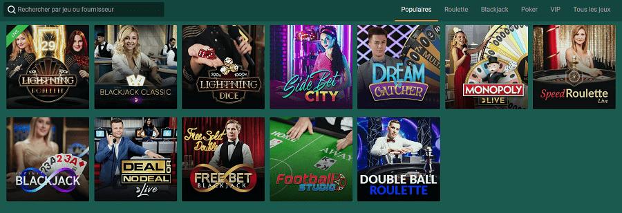 cresus casino en ligne en direct live casino avec croupier bonus en france