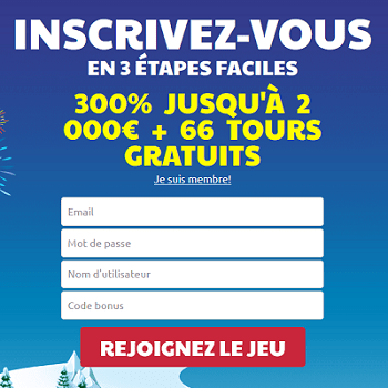 inscription gratuite chez ridika casino bonus de bienvenue