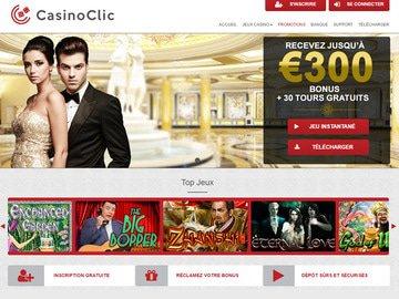 casino clic bonus sans depot bonus gratuit