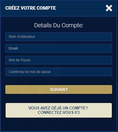 casino la riviera en France en ligne code bonus