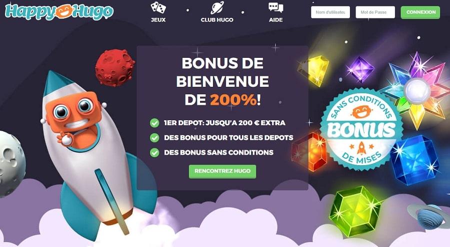 happy hugo casino en ligne fiable et de confiance
