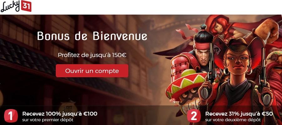 lucky31 casino bonus code en ligne en france avis, revue et critique