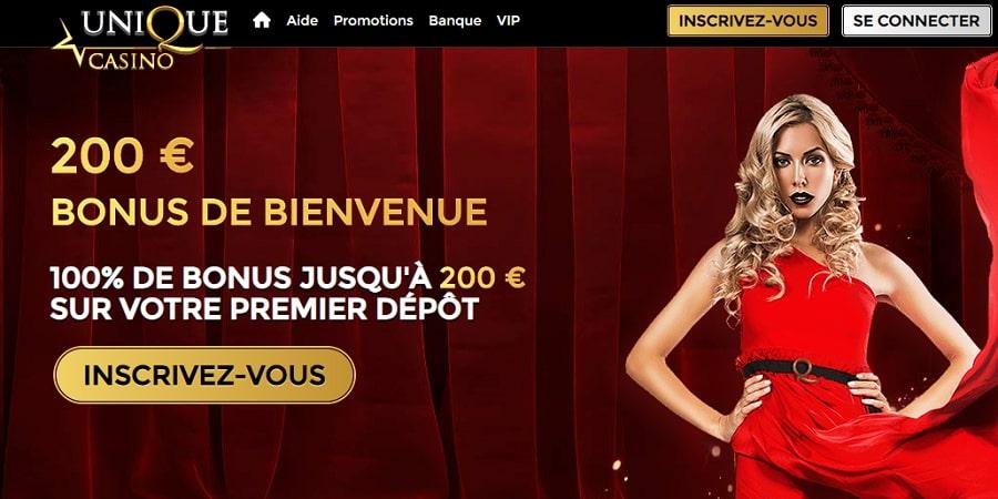 unique casino vip meilleur casino en ligne en france