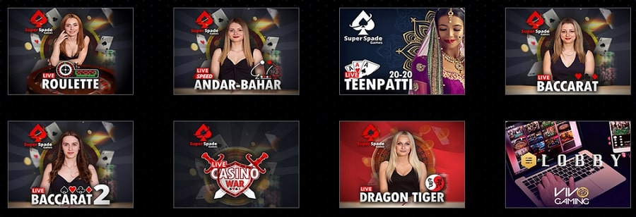 Magicazz Casino casino en direct avec croupier en direct