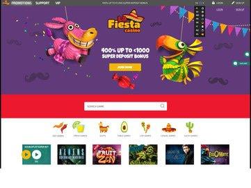 casino lafiesta en ligne avis bonus vip