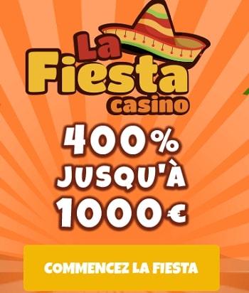 casinolafiesta inscription gratuite casino en ligne legal fiable