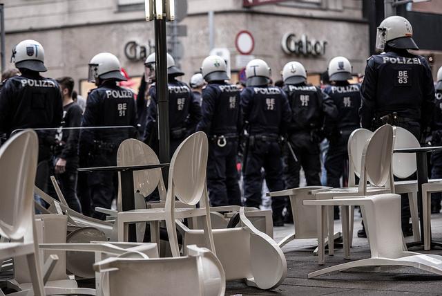 Angriff auf Türkis-Lokal, Wien, 16.07.2016 Bild: Nathan Spasić.
