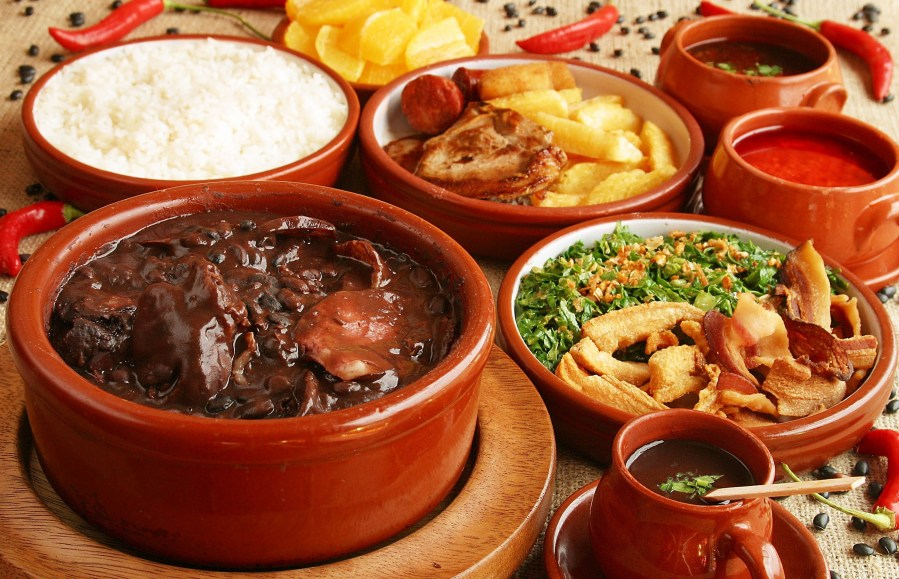 BEST of Brazil food : Feijoada !