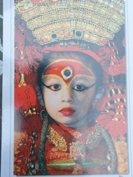 The Royal Kumari or Living Goddess of Kathmandu