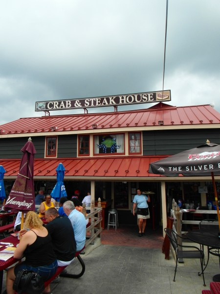 Maryland Blue Crabs at the Crab & Steak House on the Chesapeake