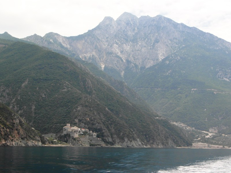 The autonomous polity of Mount Athos!