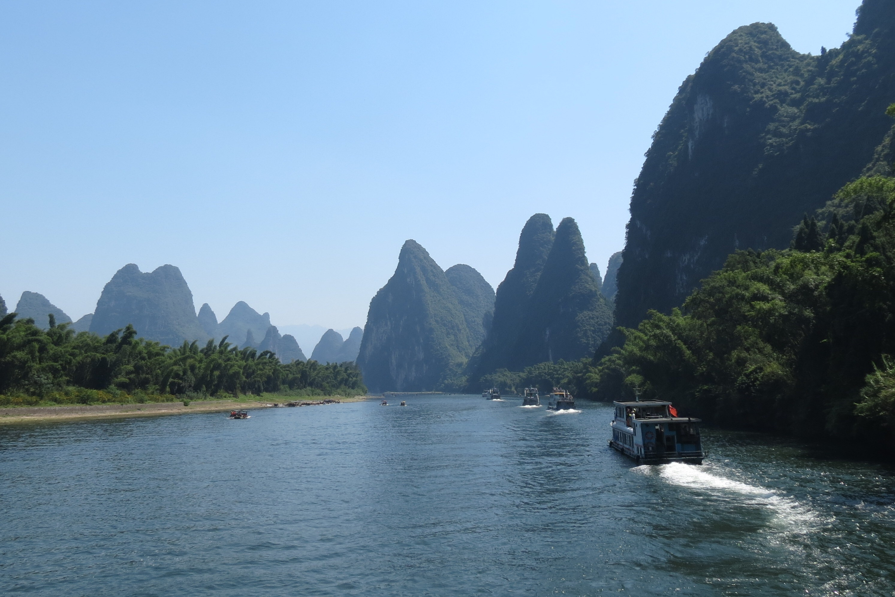 Cruising the Li River near Guilin in China ~ The Art of Travel Preparation