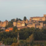 Castle of Gradara in the Marches of Italy